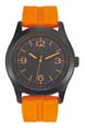 montre personnalisee homme orange